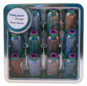 Isacord, BE1205, Twilight Escape, Embroidery Thread Kit, 12 Cones, x1100Yds