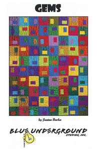 Blue Underground Studios, Inc. Gems Quilt Pattern