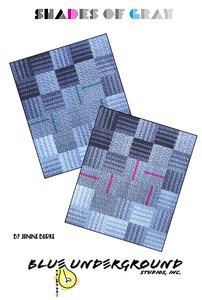 Blue Underground Studios, Inc. Shades of Gray Grey Quilt Pattern