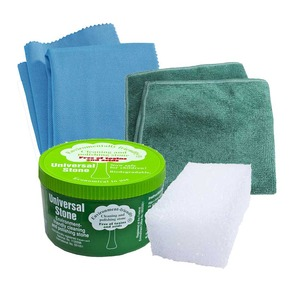 e-cloth Universal Stone Non Toxic Cloth Cleaning Set Restores Surfaces