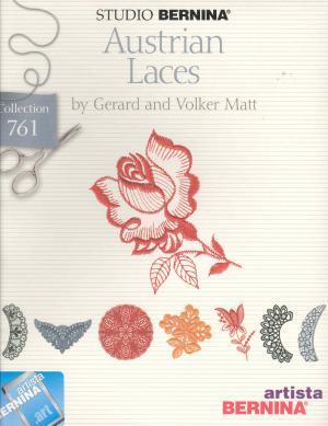 Bernina Artista 761 Austrian Laces Embroidery Card
