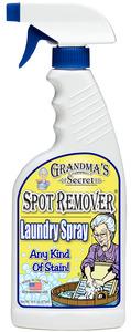 Zafar 6856SP Grandmas Secret Any Kind of Stain Spot Remover 16oz, Laundry Spray Bottle USA