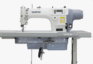 Brother BS7000DD403 Sewing Machine +UT-Trim Backtack NeedleUp AutoLift , ut under Trimmer, auto Backtack, Needle positioner Up, Knee Lever,  6mm 13mm foot Lift,  Rear Motor, 5000 SPM, 220V Control Box, control Panel, 110V Transformer, Table