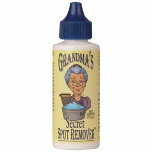 Zafar 6856 Grandmas Secret Spot Stain Remover 2, 2oz Squeeze Bottle