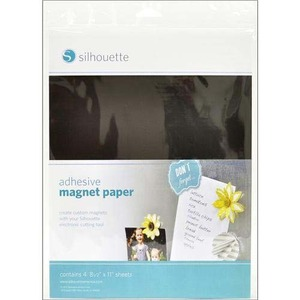 Silhouette Cameo Printable Magnet Paper