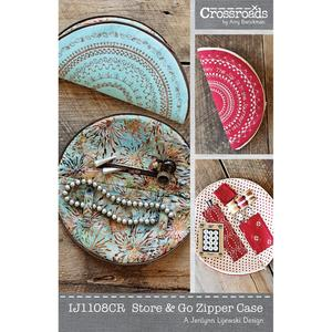 Crossroads IJ1108CR  Store & Go Zippered Case Sewing Pattern