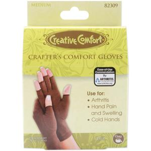 Creative Comfort 82310 Crafters Sewers Quilters Glove, Large