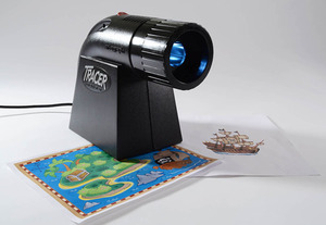 Artograph A225-360 Tracer Opaque Art Projector 2-15 Times Magnification, 23-Watt spiral fluorescent lamp included