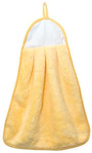 "Agomax AG0310YEL Microfiber Coral Fleece Yellow Blank Hand Towel 13x17"""