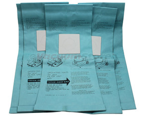 Bissell 332844-10 Wide Area Vac Bags Case of 50 (5Pkx10) BG-CC24 BG-CC28