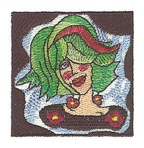 Amazing Designs BMC CJ1 Women of Whim Brother Embroidery Card