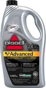 Bissell 49G5 Advanced Carpet Shampoo Cleaner Formula 32oz bottle