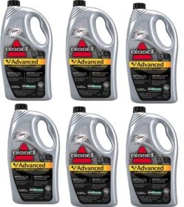 Bissell 49G51-C Advanced Carpet Shampoo Cleaner Formula 52oz bottle 6 Pk