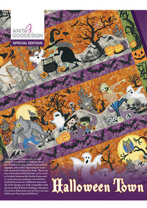 Anita Goodesign 21AGSE Halloween Town Special Edition Embroidery CD