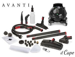 Avanti AC39000 Il Capo Pure Vapor Steam Cleaner Continuous Refill Italy
