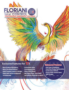 Floriani Total Control FTC-U Professional Embroidery Softwarenohtin