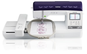 "Brother NQ1400E Demo 6x10"" Embroidery Machine +9 Extras, Great Notions 1000 Designs CD, 12 Months 0% Financing Available*"