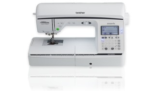 """Brother NQ700PRW Project Runway 180 Stitch Sewing Quilting Machine 8.3"""" Arm"""