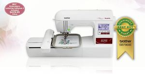 "Simplicity by Brother SB7900E 5X7"" Embroidery Machine +SABESLET2 CD-BES2 Lettering software"
