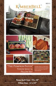 KimberBell Designs KD111 The Pumpkin Patch Sewing Pattern