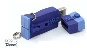 Zipper 2GB USB Stick
