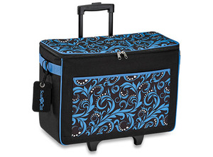 "Brother CATOTEB ScanNCut Trolley Tote Bag Travel Carrying Case 21x11x18"" Blue"