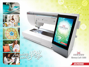 NYC Louis Carney Launch Party Janome Horizon 15000 Demo Saturday Oct 4, Houston, 10am