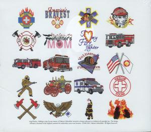 Dakota Collectibles 970131 Fire Fighter Designs Multi-Format CD
