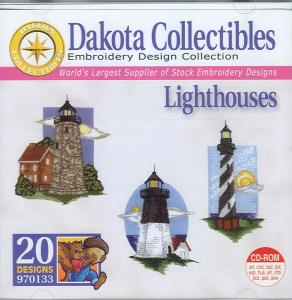 Dakota Collectibles 970133 Lighthouses Multi-Formatted CD