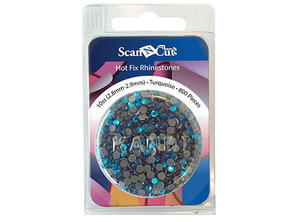 Brother CARS10T 800 Turquoise Rhinestones 10SS Refill ScanNCut CM650 500 250 100