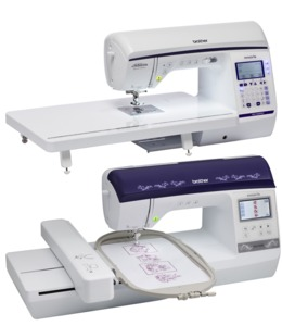 "Brother, NQ1300PRW, Project Runway, 290 Stitch, Sewing, & Quilting, Machine, Brother NQ1300PRW 290 Stitch Sewing Quilting Machine +NQ1400E 6x10"" Embroidery Machines +$100 Visa Gift Card, 12Mo 0%, Save $200 on the Combination"