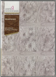 Anita, Goodesign, 262AGHD, Rhapsody, Mix, Match, Quilting, Collection, Multi, format, Embroidery, Design, CD