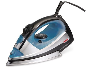 Hamilton Beach 14710 Clothes Steam Iron, Stainless Soleplate, Auto Off