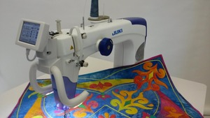 "Juki, TL2200, tl2200qvp, Quilt Virtuoso Pro, 18x10"" Arm, quilting Machine, Juki TL2200QVP-S Sit Down 18x10"" LongArm Quilting Machine Japan, Table, 10Yr Wnty or 4Yr No Interest"
