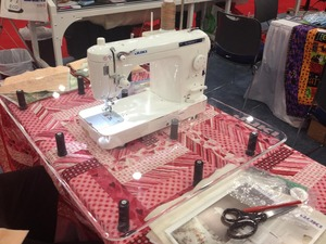 "Sew, Steady, Sit, Down, Quilting, Extension, Table, 24x32"", all, Portable, Free, arm, Flat, bed, Sewing, Machines"