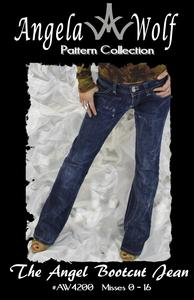 Angela Wolf AW4200 The Angel Bootcut Jean