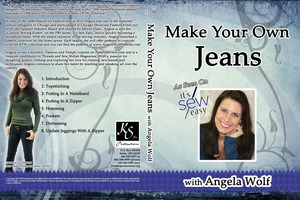 Angela Wolf Make Your Own Jeans Instructional DVD from It's Sew Easy