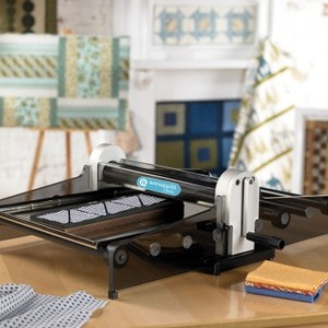 Accuquilt Studio  50800 Fabric Cutter Cuts Up To 10 Layers Uses All Dies