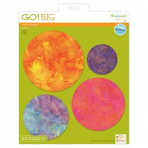 "Accuquilt GO! 55462 Big Circle 4"" 6"" 7"" 8"" Multiple Die for Go Big Cutter 55500"