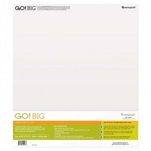 Accuquilt GO! 55146 Big Cutting Mat 14x16 Inch, for using Go Big Dies on 55500 Electric Cutter