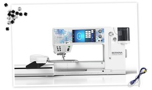 "Bernina 880E Sewing, Quilting, Embroidery Module Machine, 12"" Arm, Stitch Designer, Swiss, sewing, quilting"