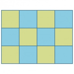 AccuQuilt Studio 50603 Square 2-1/2'' 2'' Finished Quilt Block B 12/Die