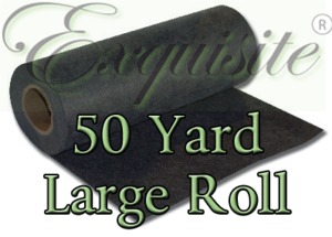 Exquisite EXLR20 Large Roll  20in X 50 yd Heavy Black Cutaway 3.0 oz Stabilizer