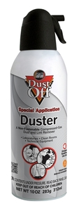 Dust Off DPNXL Air Cleaner 10oz Can, Non Flammable 134a Gas with Bitters, Dust Off DPSXL, Blow Off 152A,  Air Cleaner 10 oz Can, Non Flammable & No Inhale Bitters  for Cleaning Lint Excess Oil from Sewing Machines