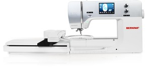 "Bernina 750QE Sewing Quilting Embroidery Module Machine, 10"" Arm, BSR*"