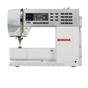 Bernina 550QE 167-Stitch Sewing Embroidery Quilting Machine, BSR* Stitch Regulator
