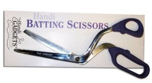 "Handi Quilter HG00413 Curved 5"" Batting Scissors Shears Bent Trimmers"