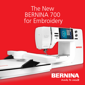 Bernina B700 Embroidery Machine Head Only, Add Your Existing 7 Module