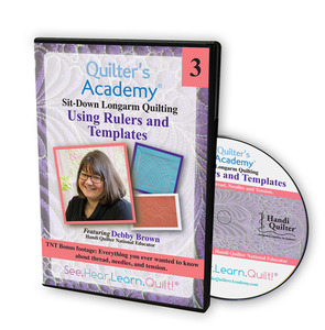 Handi Quilter HL00425 Using Rulers, Templates, DVD Video Instructions