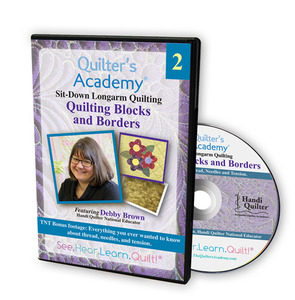 Handi Quilter Quilting Blocks and Borders DVD